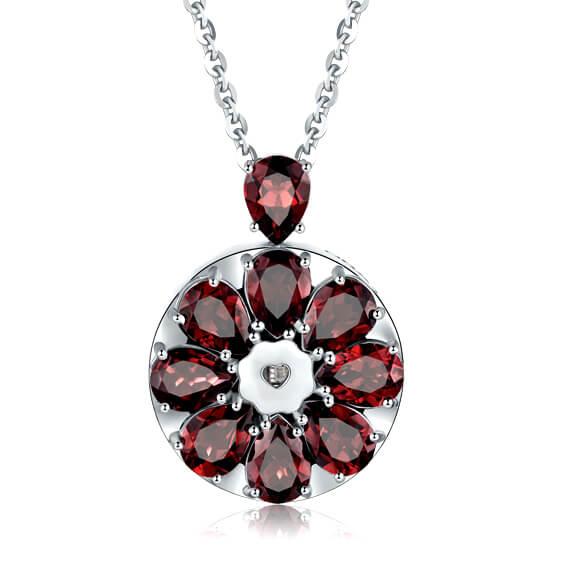 Polished Natural Gemstone Pendant