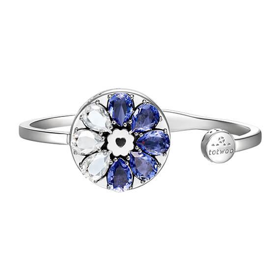 Sea Wind Swarovski Crystal Bracelet