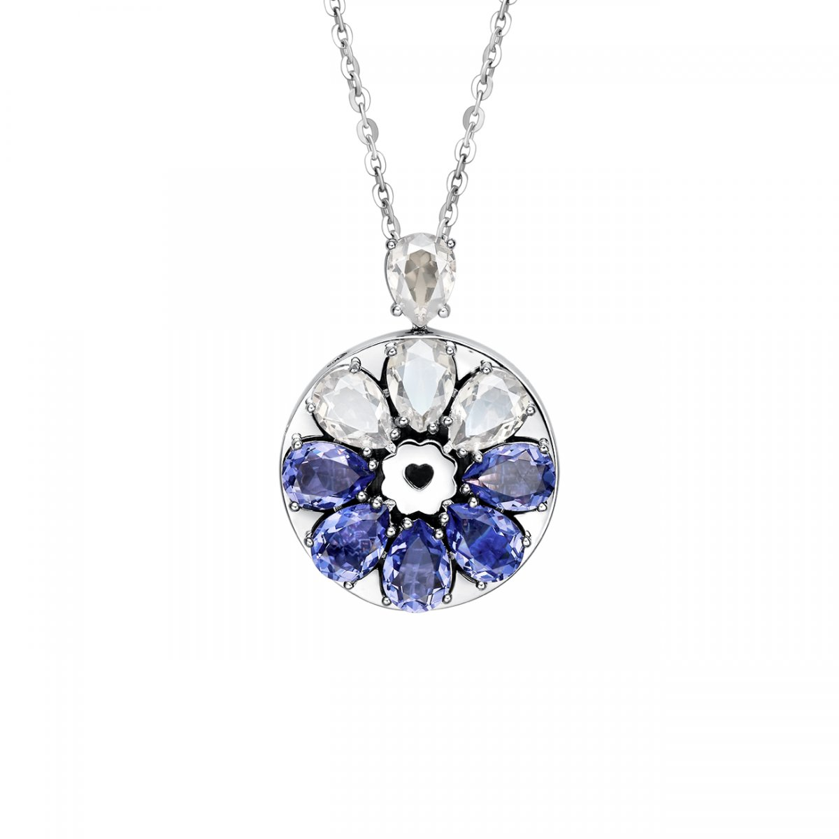 Totwoo Swarovski sea wind necklace