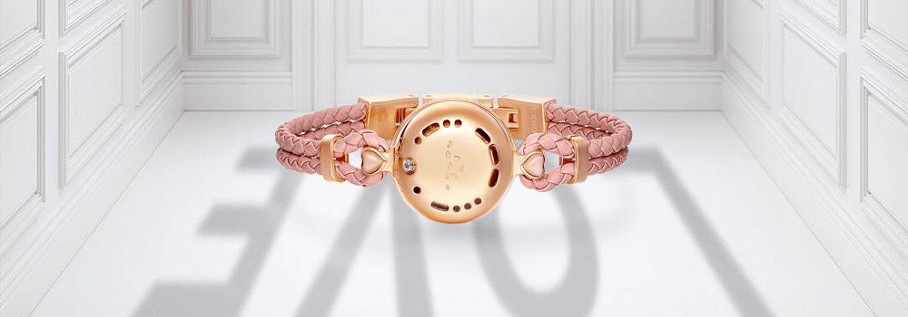 morse code pink bracelet
