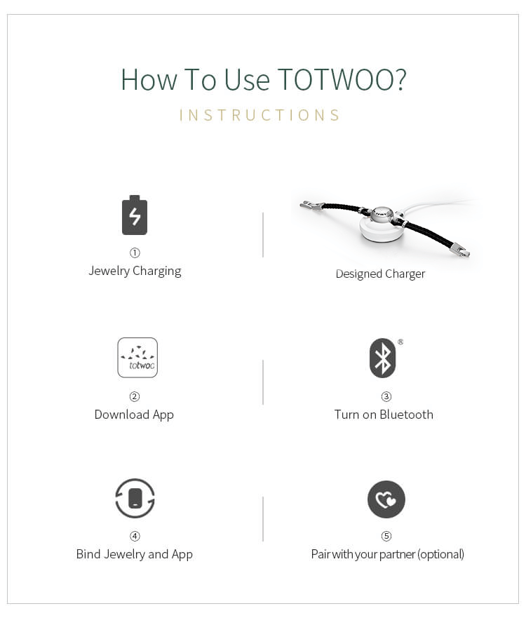 Totwoo morse code necklace