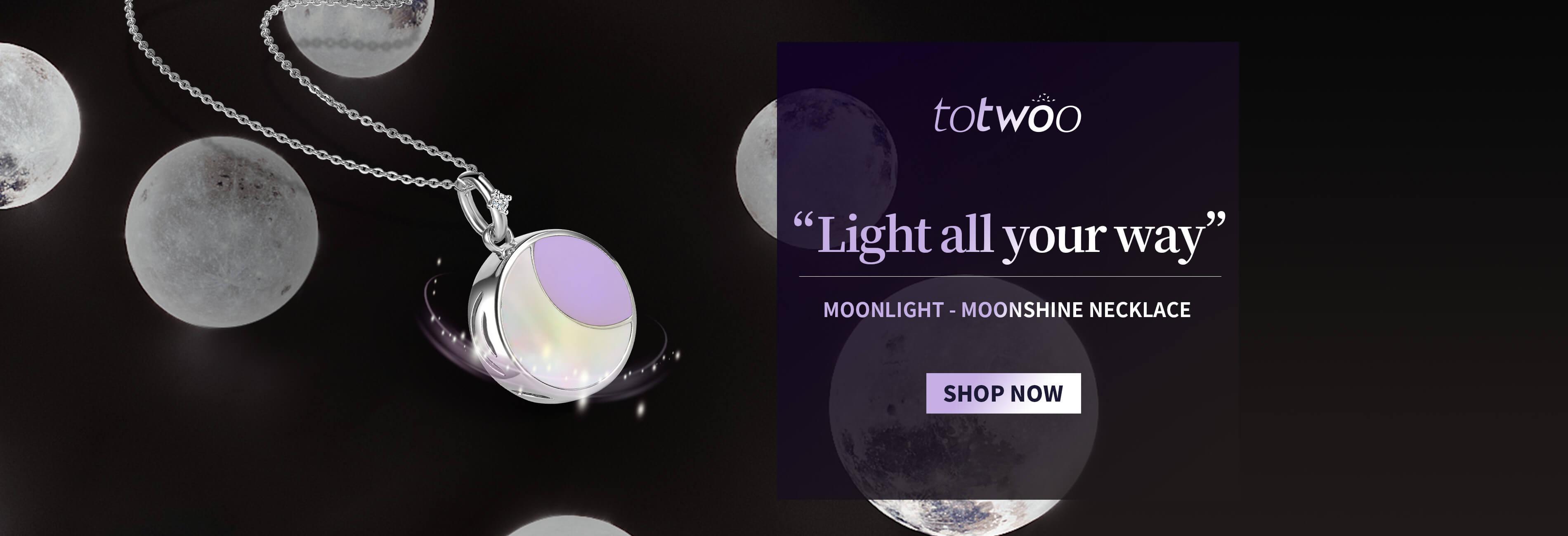 Totwoo moonlight necklace