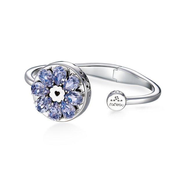 Totwoo Rosa violet bracelet