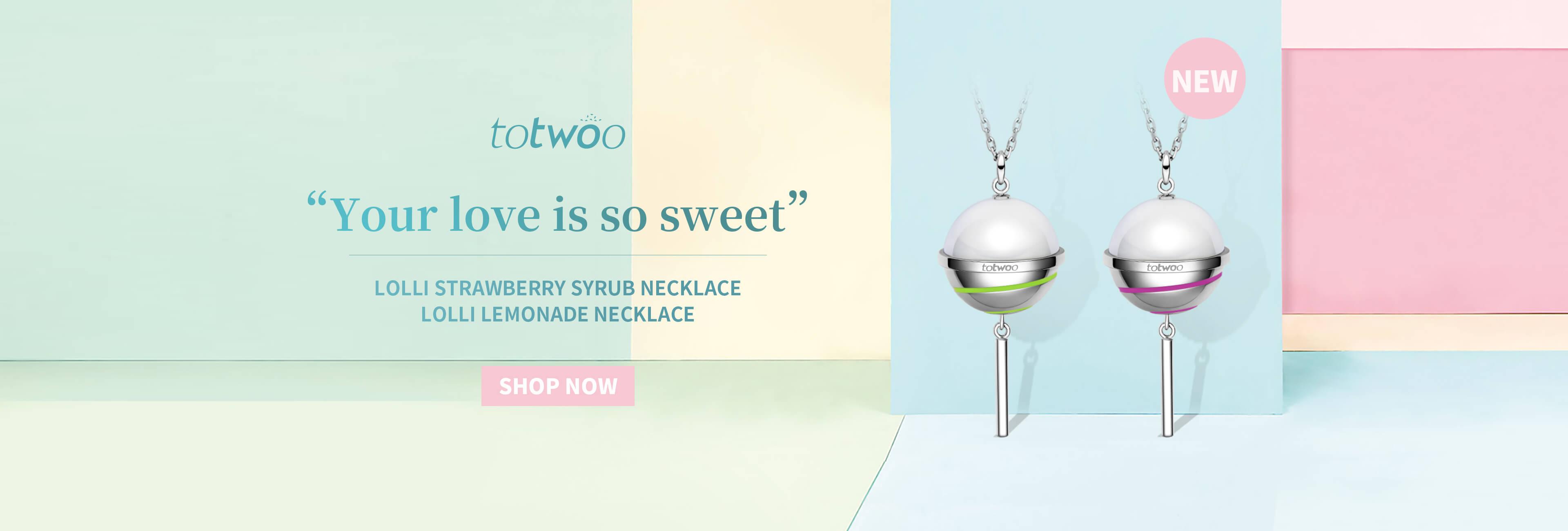Totwoo lollipop necklace