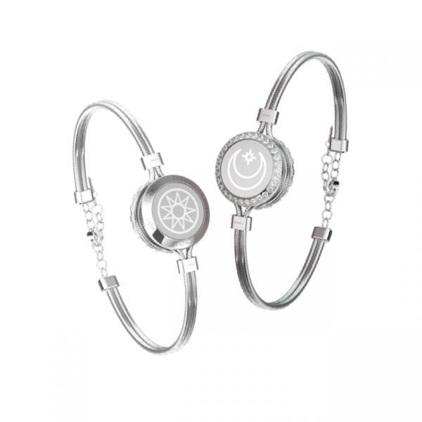 Exclusive silver bracelet