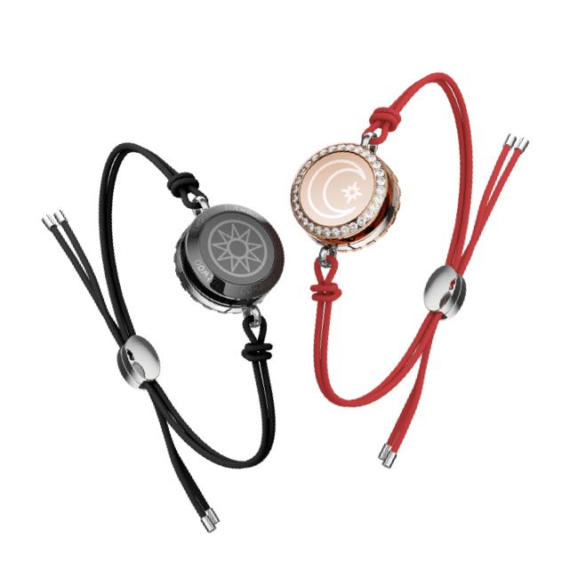 Totwoo sun moon leather bracelets