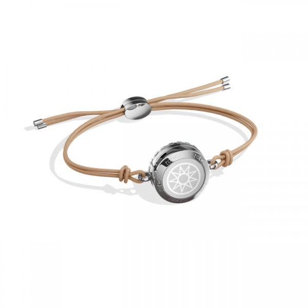 Totwoo Sun moon leather bracelet