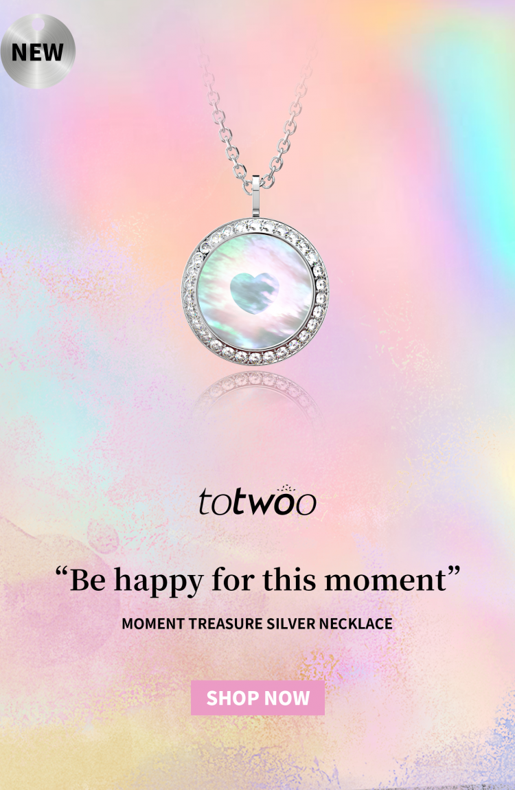 Totwoo moment necklace