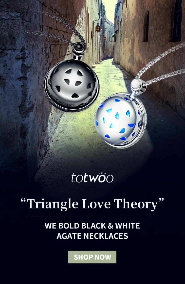 Totwoo couple necklace