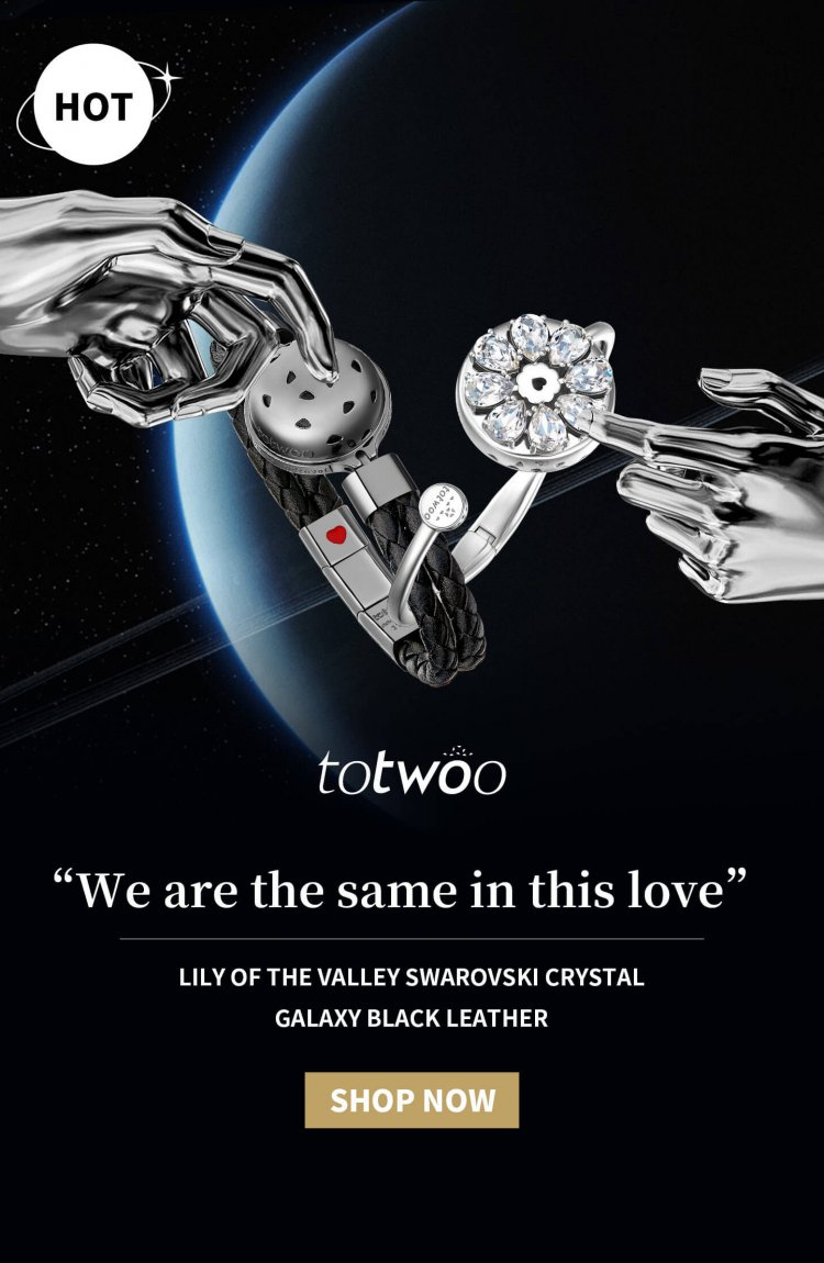 Totwoo couple bracelets